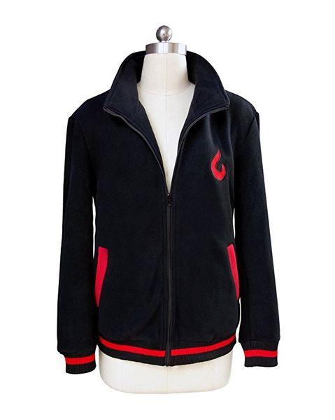 Naruto o filme Cosplay Uzumaki Boruto casaco preto Cosplay
