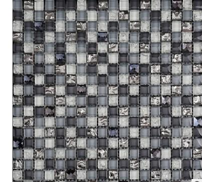 Negozio di piastrelle per soggiorno in cucina con cucina a parete in vetro a specchio a mosaico in cristallo a specchio
