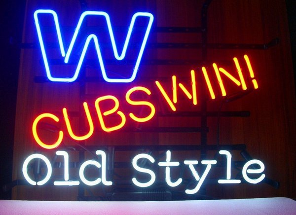 Fashion New Handcraft Old Style Real Glass Beer Bar Display neon sign 19x15!!!Best Offer!