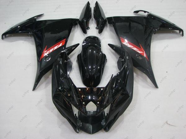 Обтекатель комплекты для YAMAHA FZ6 Fazer 13 обвесы FZ6R 2009 черный кузов fz6r Fazer 2012 2009-2013