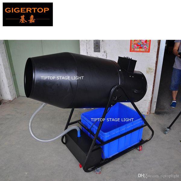 TIPTOP TP-T106 Super Big Foam Machine High Speed Oil Suck Pump/Blowing Fan Foam Output Volume 20m3/mins Electrical Manual Control