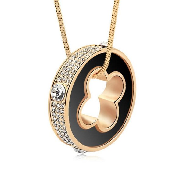 Long collier collier cristaux de Swarovski Saint Valentin cadeau de l'amour Colar Choker Collier Bijoux Bijoux Livraison gratuite