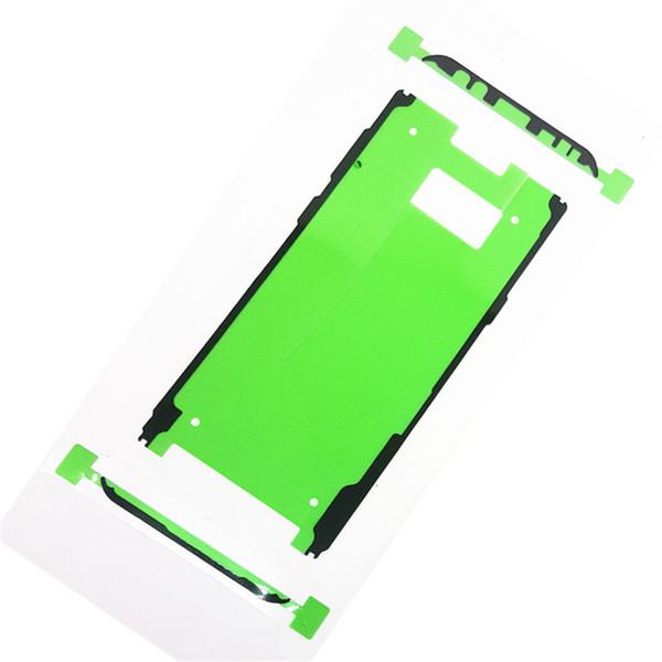 100 Sätze Neue LCD Frontrahmen Anhaftendes Aufkleberband Für Samsung Galaxy S8 G950S8 + Plus G955 Ersatzgehäuse Frontblende Kleber