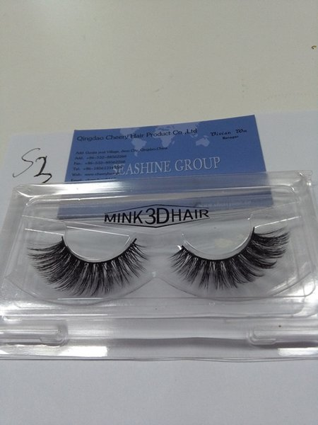 New 10 Pairs Handmade 3D False Eyelashes Extensions Popular Wholesale Price 3D Eye Lashes Strips for Make Up Beauty