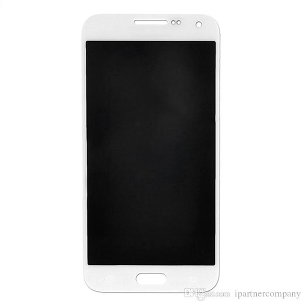 10PCS/LOT For Samsung Galaxy E5 E5000 E500 E500H E500M E500F Lcd Display With Touch Digitizer Assembly Black gold white Best Quality