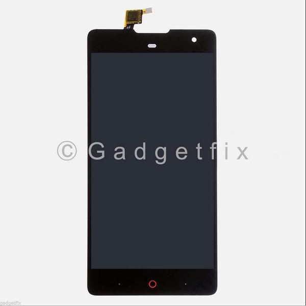 Toptan-ZTE Nubia Z7 Max NX505J Tam LCD Ekran Dokunmatik Panel Ekran Digitizer Cam Meclisi Yedek Parçalar Ücretsiz kargo