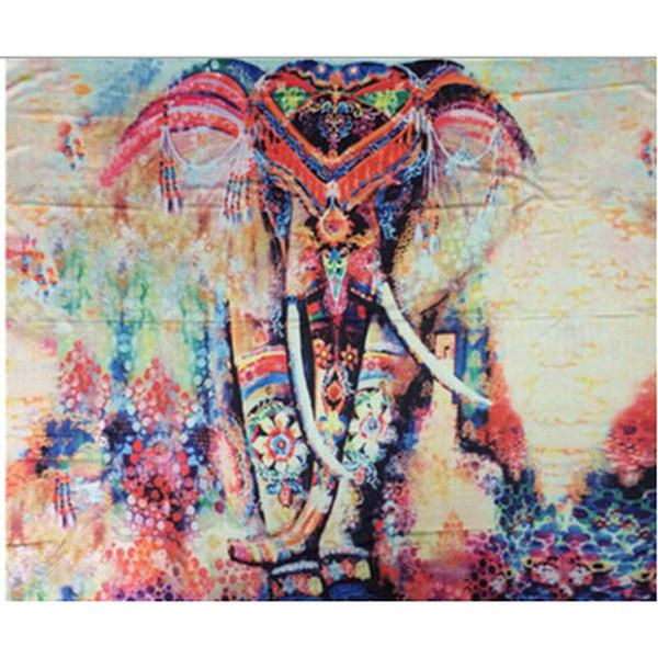 150*130cm Summer Yoga Mat Bohemian Mandala Tapestry Wall Decorative Hanging Tapestries Beach Towel Tassel Throw Rug Blanket Gift