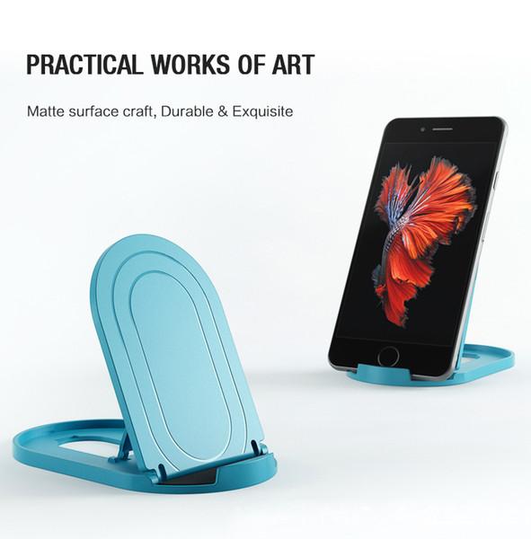 YGH-369 prezzo basso supporto universale del telefono cellulare, pieghevole portatile scrivania supporto del telefono cellulare Supporto tablet, per iPhone iPad Samsung LG tutti i telefoni