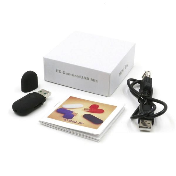 Mini Caméra Disque Portable Caméra Flash USB 1280 x 960 U-Disk Enregistreur Vidéo Caméras de Sécurité DVR Caméra avec Enregistrement Audio