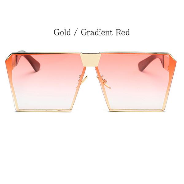 Gold Frame Gradient Rot