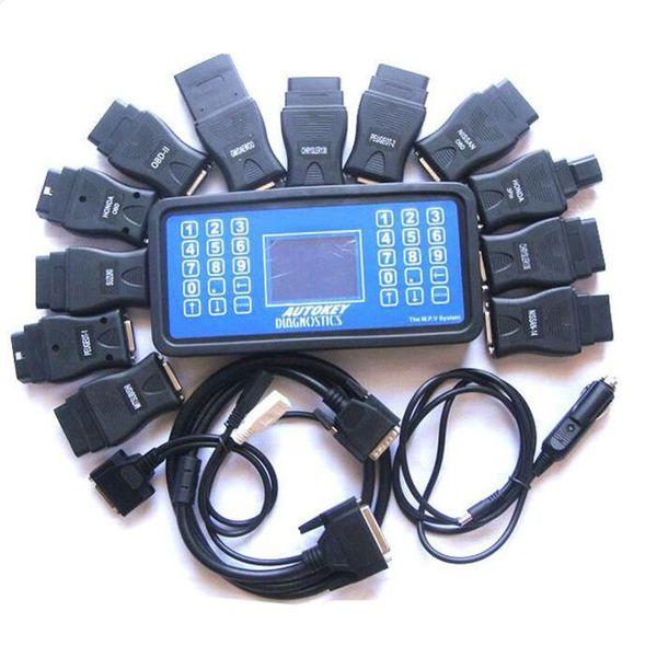 Professional MVP Key Maker Car Key Programmer MVP Transponder No Tokens Limited Read&Clean Fault Code Reader Add More Functions