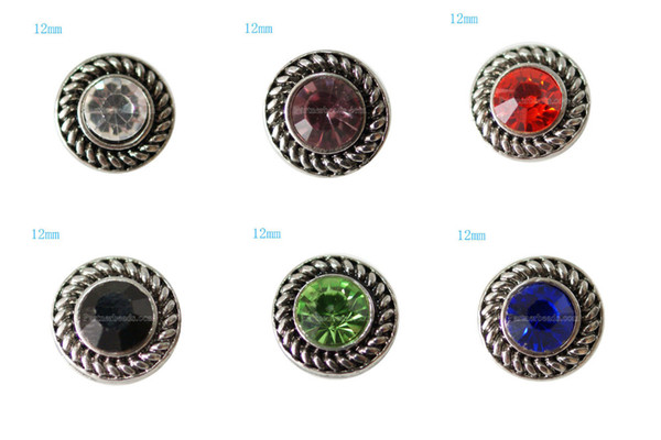 Wholesale-10pcs/lot Partnerbeads Small 12mm Snap Interchangeable Button Jewelry Ginger Snap Jewelry Free Shipping KB7268-S