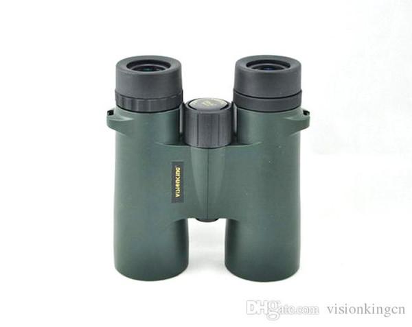 Visionking 8x42 Waterproof Nitrogen filled Bak4 Roof Binoculars Hunting Birding Professional telescope high quality binoculars monoculars