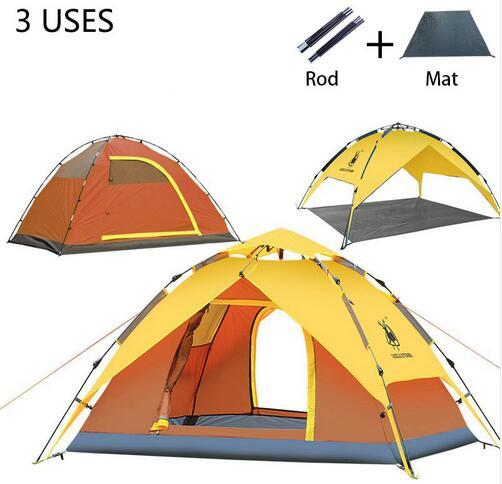 Hot sale 3-4 person Tents Hydraulic automatic Windproof Waterproof Double Layer Tent Ultralight Outdoor  sc 1 st  DHgate.com & Hot sale 3-4 person Tents Hydraulic automatic Windproof Waterproof ...
