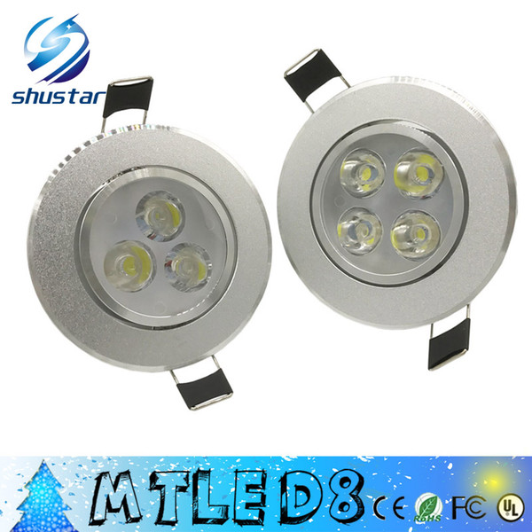 best selling LED Spotlight 9W 12W Epistar LED Recessed Cabinet Wall Spot Down light Ceiling Lamp Cold White Warm White For Lighting