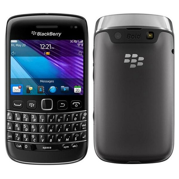 Refurbished Original Blackberry Bold 9790 Unlocked 3G Mobile Phone 2.45 inch 8GB ROM 5MP Camera WIFI GPS Touchscreen + QWERTY Free DHL 1pcs