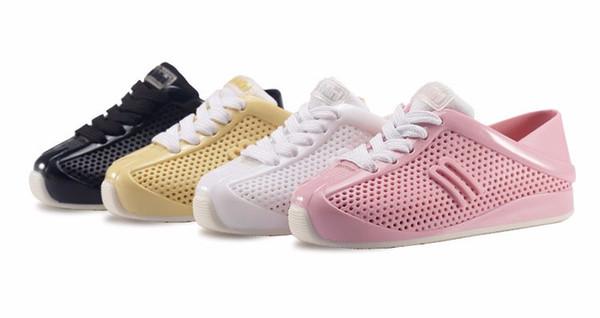 Mini-baskets En Maille Melissa - Blanc 6eB3UPZxy