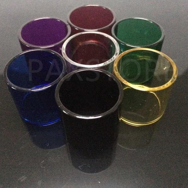 Top Rated Vape Pen 22 Replacement Pyrex Glass Tube for Vape Pen 22 Atomizer Replacement Sleeve Tube 7 Colors DHL FREE