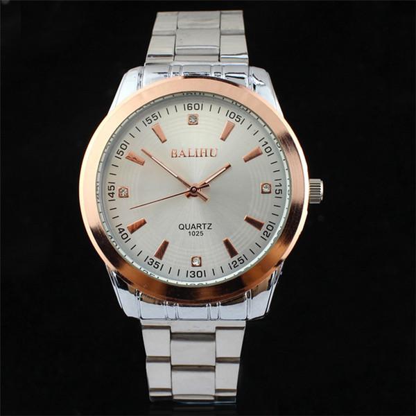 nuovo orologio da polso in acciaio impermeabile cinturino in acciaio importare movimento fabbrica diretta da uomo orologio da donna