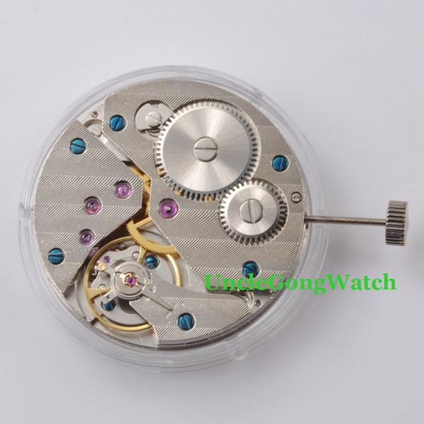 Vente en gros - Pièces de montre, 17 rubis 6497 Mécanique à remontage manuel Mouvement à remontage manuel V36 ST3621, Montre à remontage mécanique pour homme
