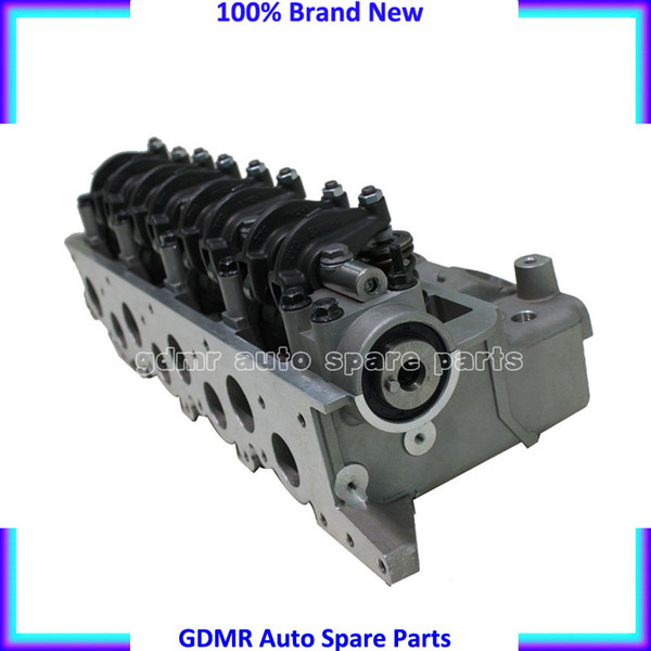 top popular Complete 4D55T 4D55 4D56T 4D56 cylinder head AMC 908 611 for Mitsubishi Montero Pajero l300 for hyundai h1 H100 for ford Ranger 4WD 2WD 2019