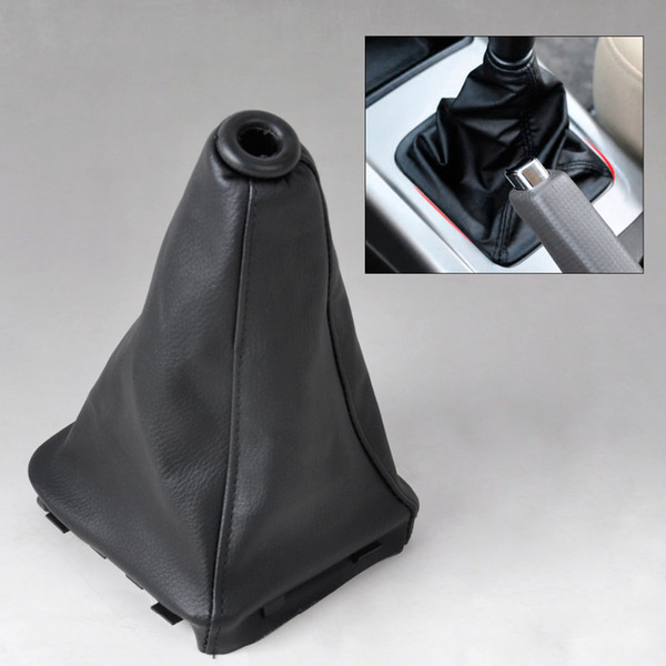 New PU Leather Gear Stick Shift Knob Cover Boot Gaiter For Hyundai Elantra / Avante XD 2000 2002 2003