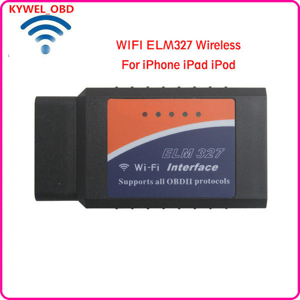 ELM327 WiFi OBD OBD2 EOBD Car Diagnostic Scanner Tool For PC iPhone iPad Android