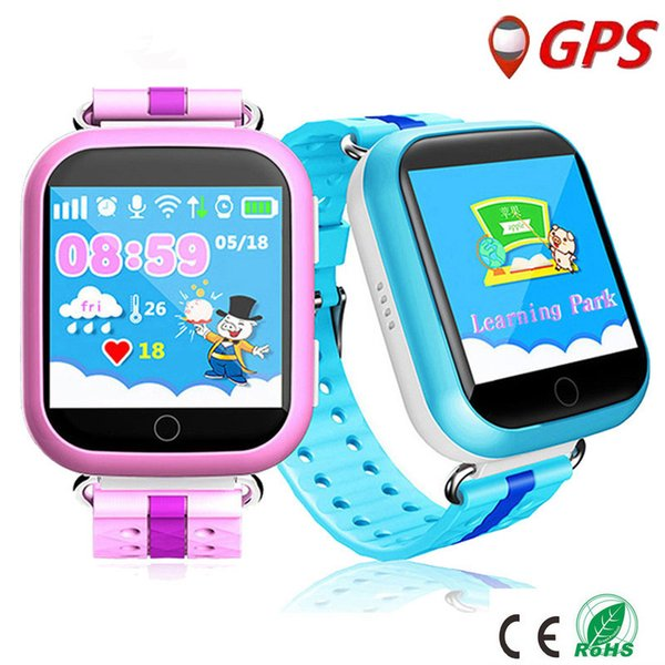 Children Bluetooth Q100 Q750 Smartwatch With WiFi GPS AGPS LBS BDS for iPhone IOS Android Smart Phone Wear Clock Wearable Device Smart Watch