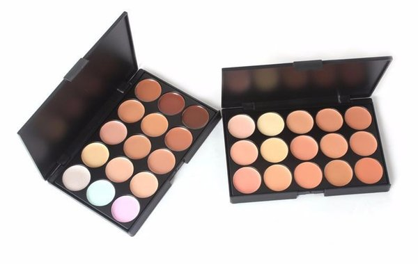Factory price lady women 15 color makeup eye hadow camouflage facial concealer palette eye hadow profe ional dhl hipping