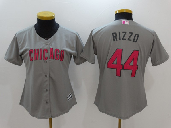 buy popular 60d3a 3f107 closeout anthony rizzo grey jersey 8bf6e 47537
