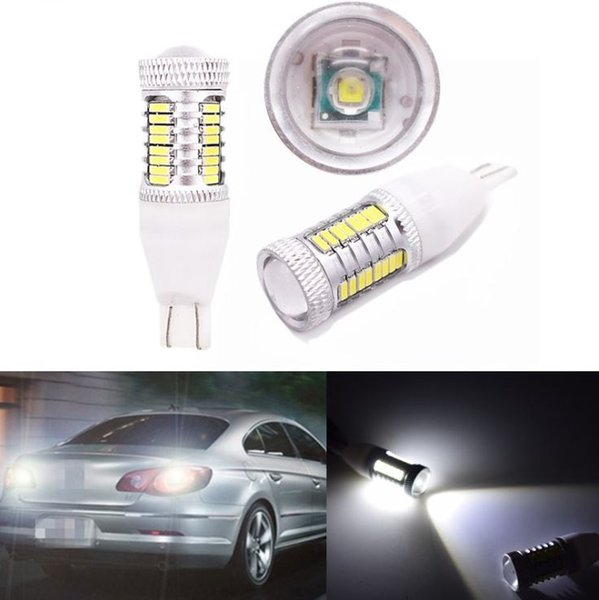 High Power 5W Canbus White Car Auto LED Light T15 4014 Chip 1 Cree + 32 SMD Auto LED Light Reversing Lamp Backup LED Light 12V Work Lamp