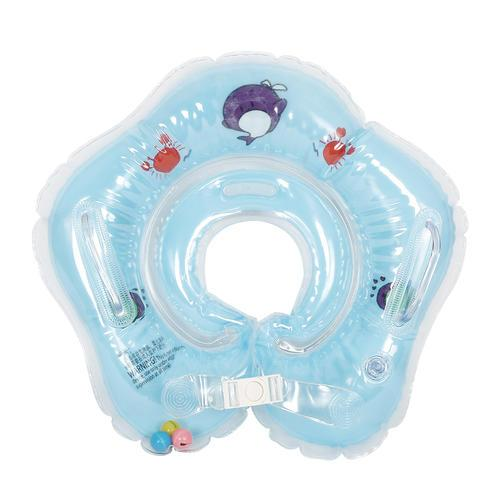 PVC Baby Infant Newborn Swim Swimming Neck Float Inflatable Ring Safety Circle 4 colors Swimming pool accessories
