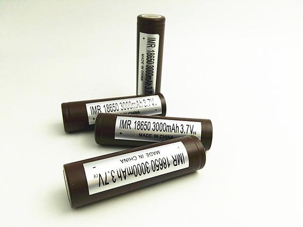 HG2 18650 Li-ion batterie 3000mAh 30A rechargeable haute batterie au lithium 18650 pour mod vig ecig
