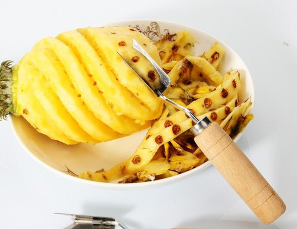 Ananas-Augen-Schäler-nützliche Frucht-Ananas-Schäler-Corer-Aufschnitt-Schneider-einfache Ananas-Messer-Fruchtsalat-Werkzeug-Küchen-Zusätze