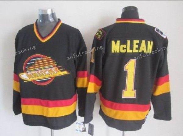 ... NHL 1 Vancouver Canucks Vancouver Canucks Throwback 1 Kirk Mclean Jersey  Men 19 Markus Naslund 44 Todd Bertuzzi Stitched Vintage ... cdd68ff8e