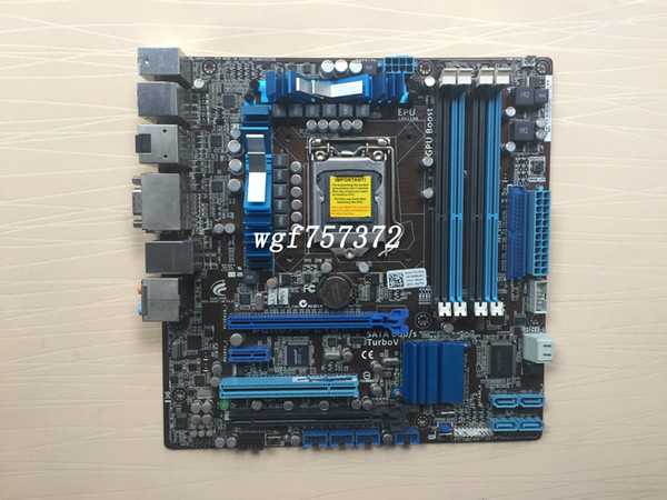 For Asus P8H67-M EVO Desktop Motherboard LGA1155 H67 SATA 6Gb/s USB 3.0 Intel Systemboard