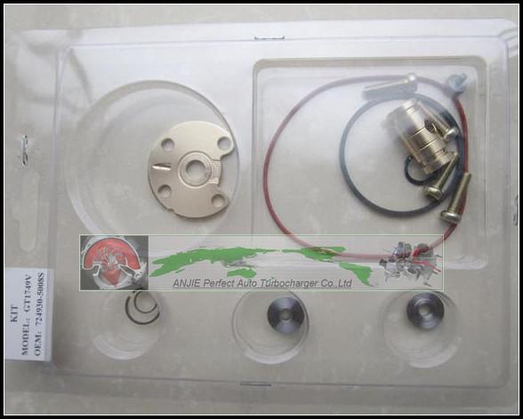 Ремонтный комплект Turbo для ремонта GT1749 724930 724930-0006 724930-0004 724930-0002 Для AUDI A3 VW JETTA Touran BKD AZV 2.0L Турбонагнетатель