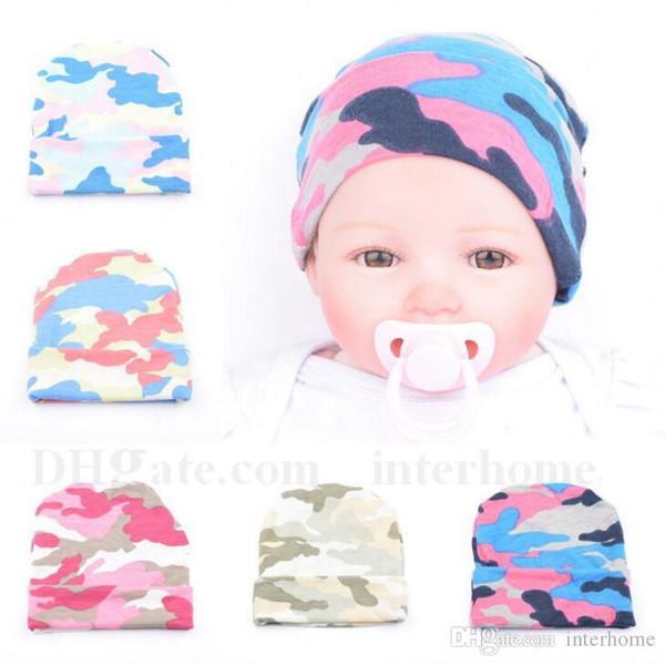 Compre Impreso Sombreros De Ganchillo Bebé Recién Nacido Patrón ...