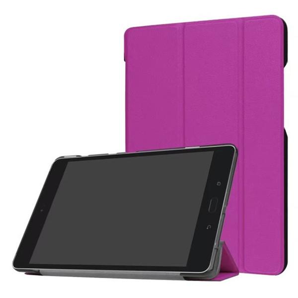 """DOLMOBILE Flip Cover Case with Stand for Asus Zenpad Z8S ZT582 ZT582KL 8"""" 8.0 2017 Tablet + Stylus Pen 100pcs"""