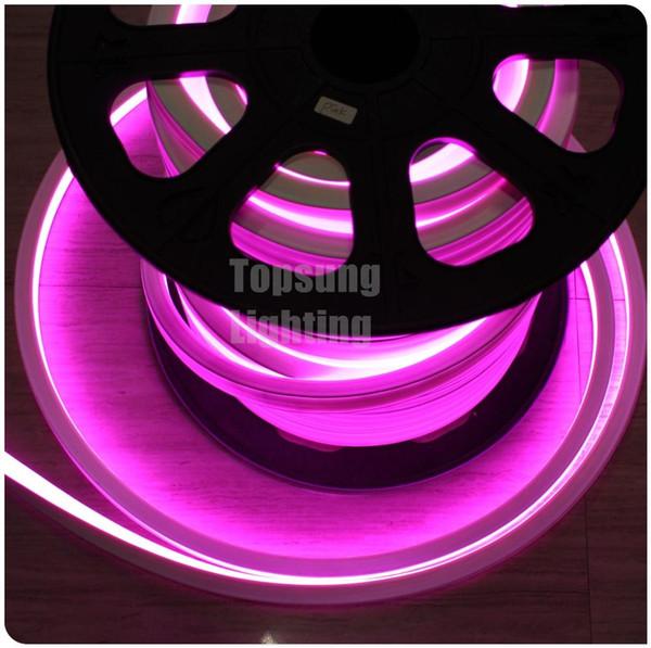 Heißer verkauf kommerziellen rosa 20 mt 16x16mm platz smd led neon flex LED neonrohr 240 v führte neonrohr für dekoration