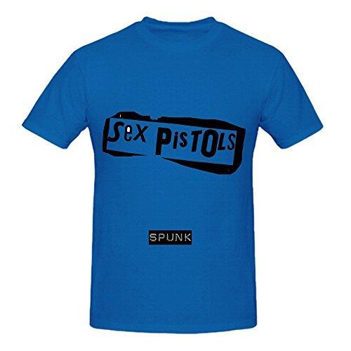 T-shirt De Mode Sex Pistolets Spunk Electronica Mens Col Rond Chemises Décontractées Coton Lâche T-shirts Pour Hommes Cool Tops T-shirts