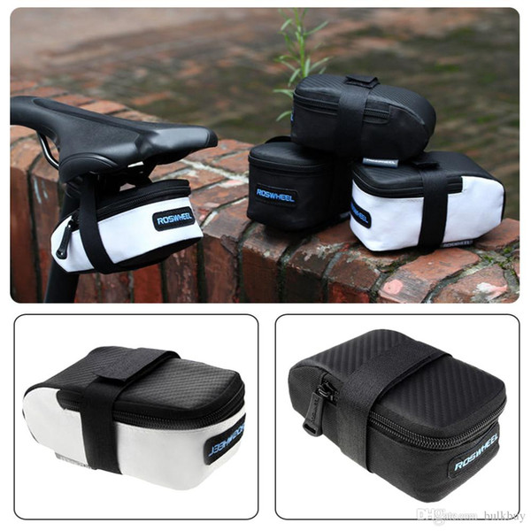 13877 ROSWHEEL Mountain Road MTB Bike Bicycle Bag Cycling Saddle Back Seat Seatpost Tail Pouch Package Bag