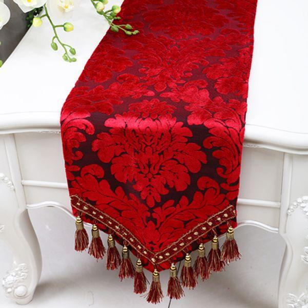 black red flower 200 x 33 cm
