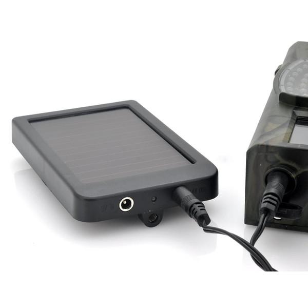 Al por mayor-Cámara de caza de la batería del panel solar Cargador de energía externa para Trail Camera HC300M HC500G HC500M