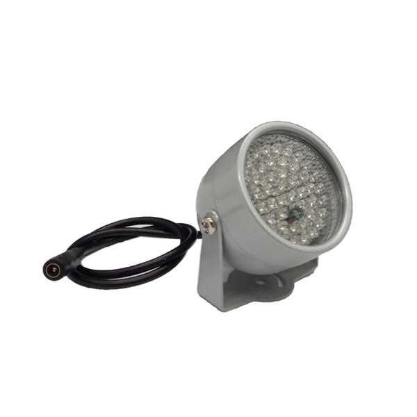 850nm 48 IR LED Infrared Illuminator Light IR Night Vision for CCTV Security Cameras Fill Lighting metal gray Dome Free shipping