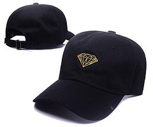 2017 New Fashion Hip Hop RODEO CROWNS WIDE BOWL Diamond snapback PUNYUS caps baseball Hats black Diamond Hat 6 panel cap bone gorras