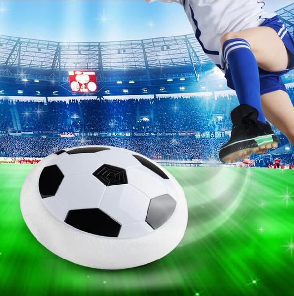 Grosshandel 18cm Weihnachten Fuhrte Luft Energie Fussball Kugel Disketten Innenfussball Spielzeug Mehroberflachenschweben Und Gleitendes Spielzeug
