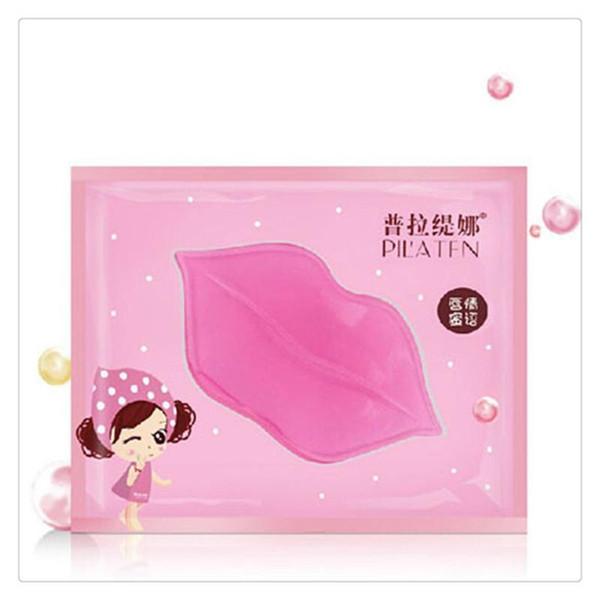 Pilaten Lips Mask Lip Care Masks Crytal Gel Film Paste Collagen Membrane Moisturizing Hydrating Lips Care Gel Free DHL