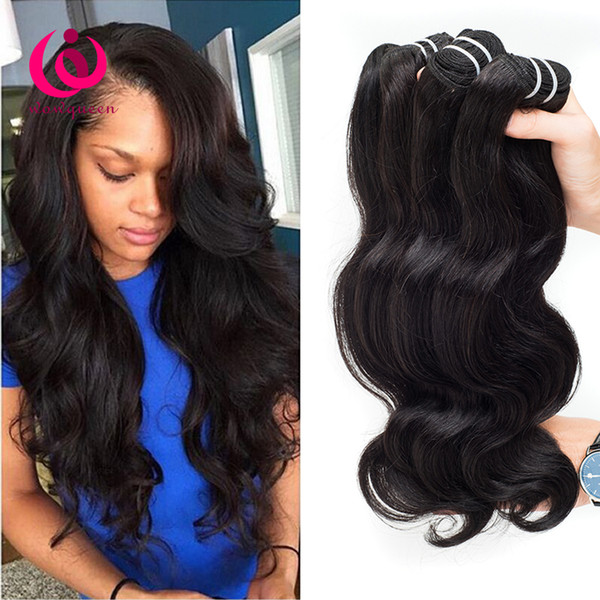 Indian Virgin Human Body Wave Hair Weave Bundles Wow Queen Hair Products 4pcs/lot No Shedding No Tangle Cheap Price Indian Hair Extensions