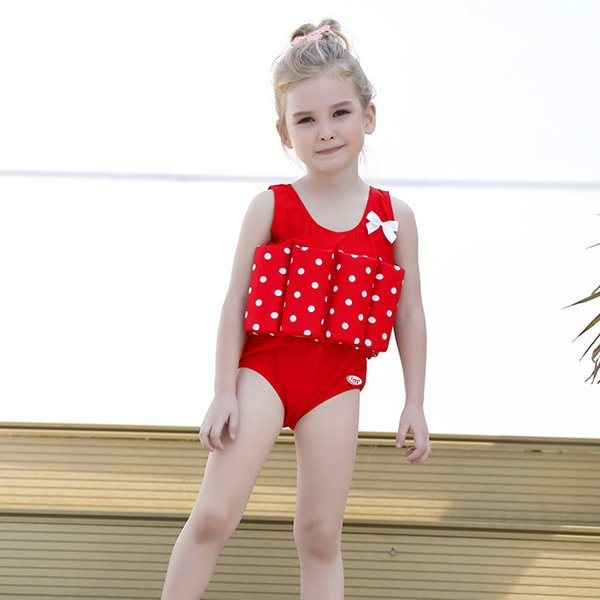 Clothes sports Children's swimwear new girls boys babies children buoyancy swimming suits baby swimming suits swimming suits
